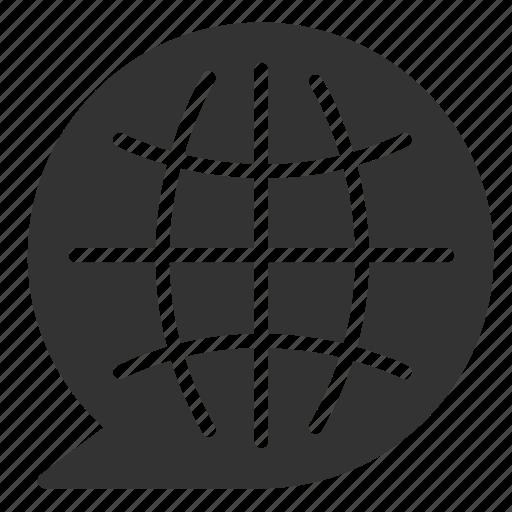 global, international, language, translate, translating, translation icon