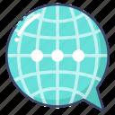 communication, international, language icon