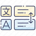 language, translate, translator icon