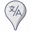 google, language, localization, translate icon