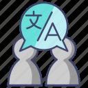 exchange, language, translate, translation icon