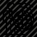 isolated, thin, translator, vector, yul914 icon