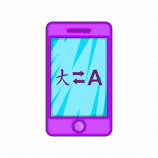 App, cartoon, city, cityscape, mobile, reality, translation icon - Download on Iconfinder