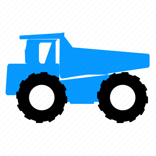automobile, car, dump truck, transport, transportation, truck, vehicle icon