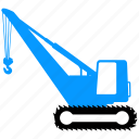 building, construction, crane, equipment icon