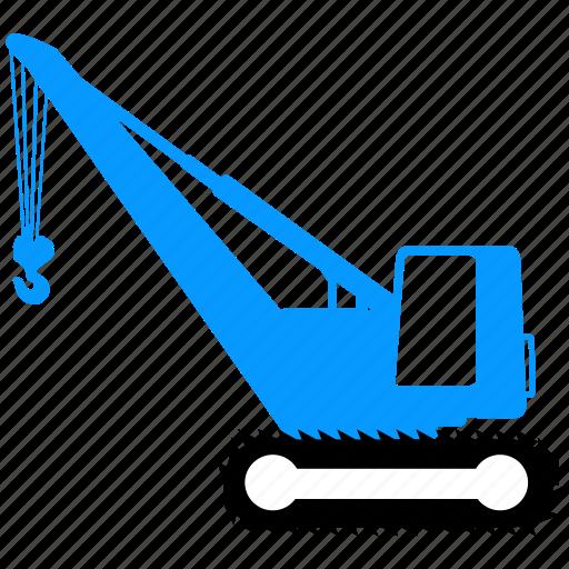building, construction, crane, equipment icon