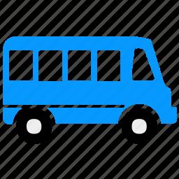 bus, car, school bus, transport, transportation, travel, vehicle icon