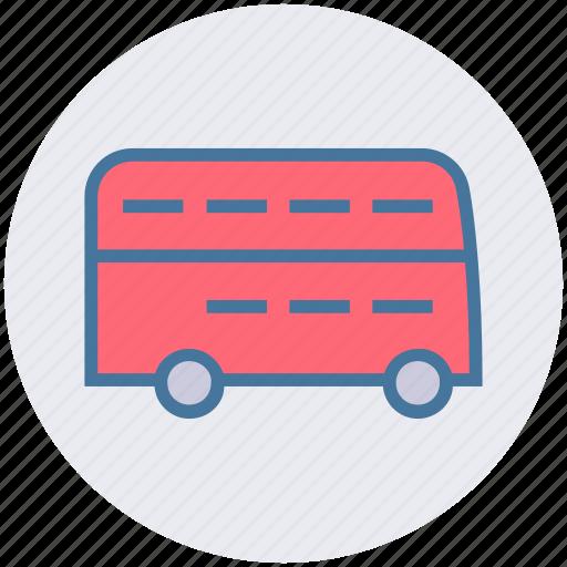bus, bus transport, double bus, public transport, public vehicle, transport vehicle, vehicle icon