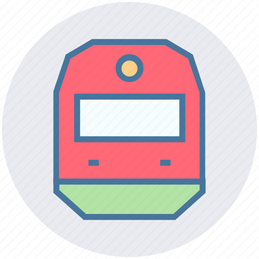 public vehicle, railway, train, transport, transport vehicle, transportation icon