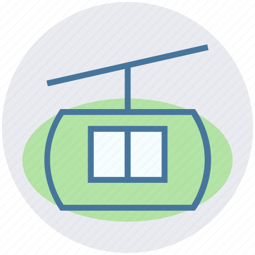 Cable, cableway, funicular, ski, transport icon - Download on Iconfinder