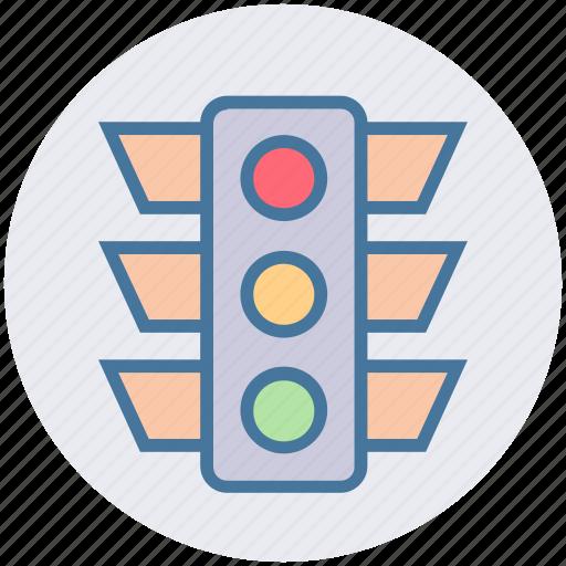 light, pole, regulation, traffic, traffic light, transport, transportation icon