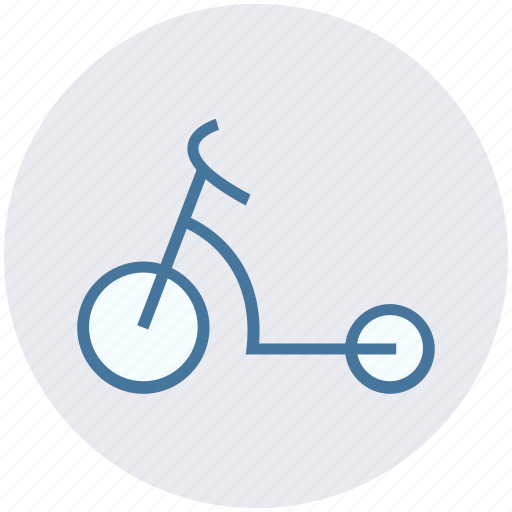 motor scooter, razor scooter, scooter, sports, stunts, tricks scooter icon