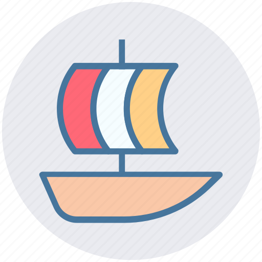 boat, cruise, luxury cruise, ship, shipment, travel icon