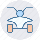 bike, dessert bike, dirt bike, four wheeler, four wheeler bike, sports bike icon