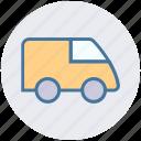 van, travel, poultry van, goods transport, truck, shipping, transport