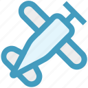 aeronautics, aircraft, airplane, flight, fly, plane icon