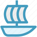 boat, cruise, ship, shipment, travel, vessel