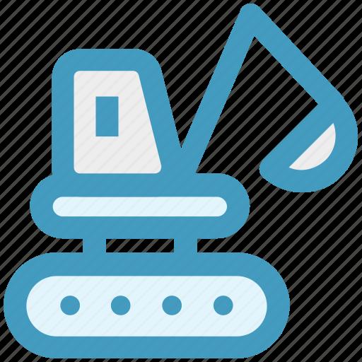 Construction, crane, equipment, lift, machine, transport icon - Download on Iconfinder
