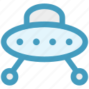 alien, fly, martian, planet, ship, space, space ship icon