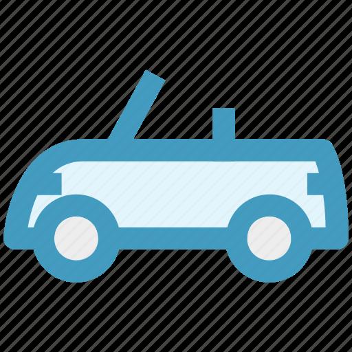 Auto Car Automobile Hatchback Open Roof Car Roofless Car Sport
