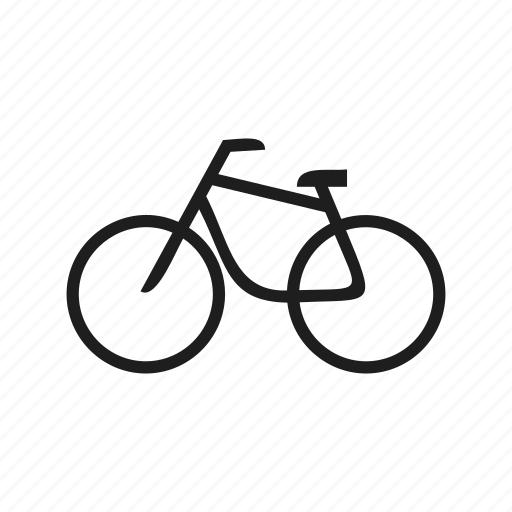 bike, transport, vehicle, wheel icon