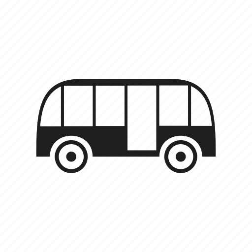 automobile, bus, car, transport, vehicle, wheel icon
