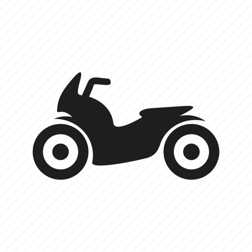 motorcycle, scooter, transport, vehicle, wheel icon