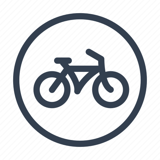 bicycle, bike, cycle, push-bicycle, transport, velocipede, wheel icon