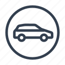 car, machine, rent a car, taxi, transport icon