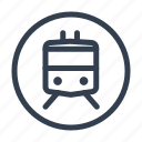 boat train, funicular, streetcar, train, tram, transport, trolley icon