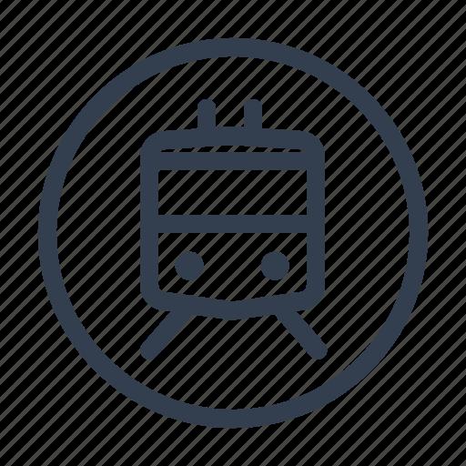 boat train, funicular, streetcar, train, tram, transport, trolley icon