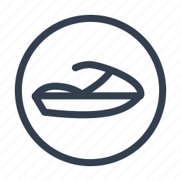 jetski, transport icon