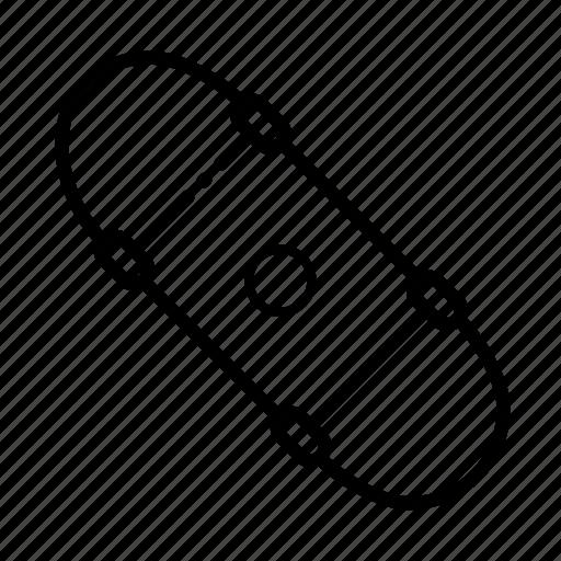 Roller, skateboard, skating, sport icon - Download on Iconfinder