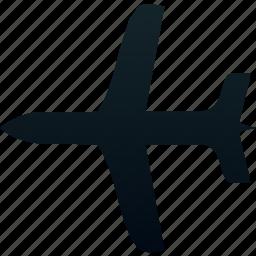 aircraft, aviation, traffic, transport, transportation icon