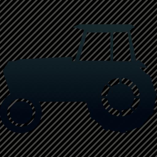 tractor, traffic, transport, transportation icon