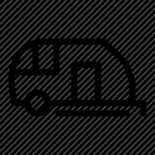 Camping, caravan, summer, transport icon - Download on Iconfinder