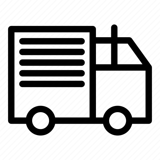 delivery, shipment, transport, truck icon