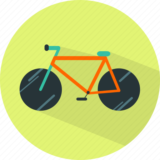 bicycle bike, cycle, cycling, transport icon