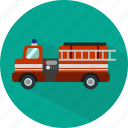 delivery, fire, transport, transportation, truck, vehicle icon
