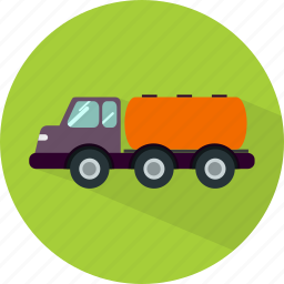 delivery, gas, transport, transportation, truck, vehicle icon