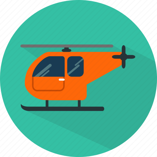 chopper, flight, helicopter, transport, vehicle icon