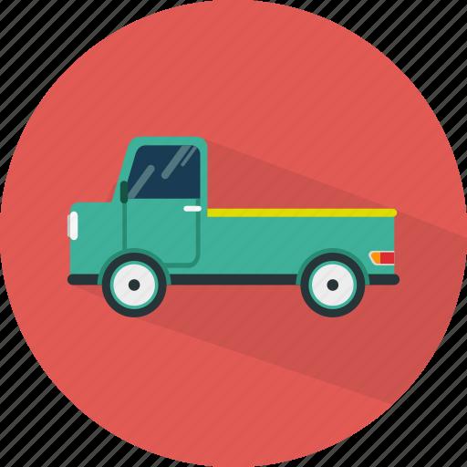 car, pickup, transport, vehicle icon