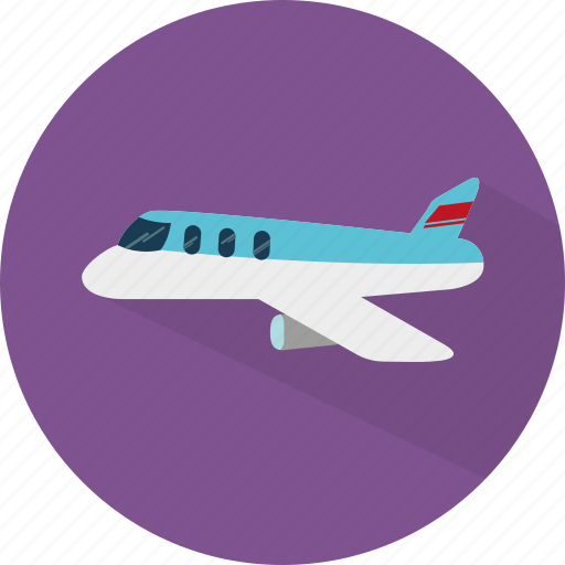 Aircraft, airplane, flight, plane, transport, travel icon - Download on Iconfinder