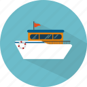 boat, sea, ship, transport, travel icon