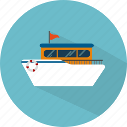 boat, sea, ship, transport, travel icon