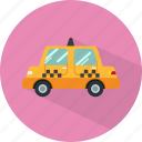 taxi, cab, car, transport, vehicle