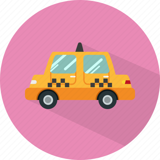 cab, car, taxi, transport, vehicle icon
