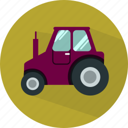 agriculture, farm, tractor, transport, truck, vehicle icon