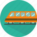 railway, train, transport, transportation, travel icon