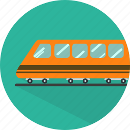 railway, train, transport, transportation, travel icon